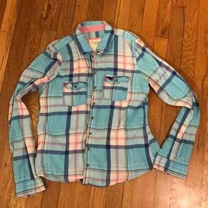 Bright, plaid shirt